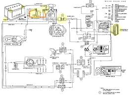 ford thunderbird and continental mark iii amp image ford thunderbird charging system schematic