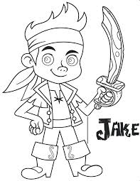 jake neverland pirates coloring pages. Exellent Pirates Jake And The Neverland Pirates Coloring Pages Color    With Jake Neverland Pirates Coloring Pages N