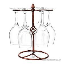 efbbq stainless steel tabletop wine glass drying rack stemware racks glass hanger glass holder hold 6