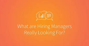 ... perfect opportunity for promotion, then it's important to know what  hiring managers look out for within this 1 minute of scanning through your  resume.