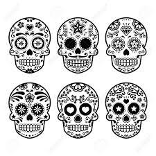 Cr Ne De Sucre Du Mexique Dia De Los Muertos Ic Nes Fix S