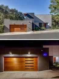 mid century modern garage doors with windows. 18 Inspirational Examples Of Modern Garage Doors // The Five Horizontal Windows This Mid Century With