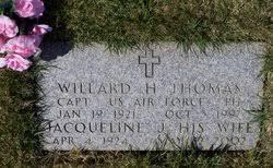 Willard Hale Thomas (1921-1997) - Find A Grave Memorial