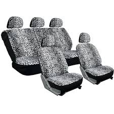 leopard seat covers velour leopard cheetah spotted safari low back bucket seat car seat cover set