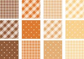 Fall Patterns Custom Fall Colored Plaid And Polka Dot Pattern Pack Free Photoshop