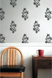 vintage wall decal elegant floral damask vinyl wall decal elegant wallpaper  zoom wall decals