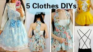 Upcycle Old Clothes 5 Diy Clothes Transformations How To Transform Upcycle Your Old