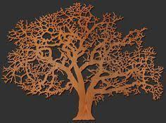 oak tree wood wall art on large wooden tree of life wall art with tree of life wall art cnc router pinterest office walls