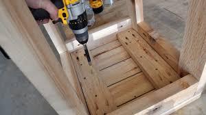 Pocket Holes DIY PETE Bar Stools Build Build Your Own Bar Stools I48