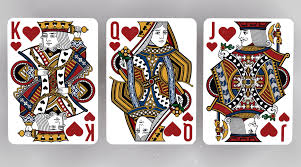 Face Card Design Playing Card Illustrations Hearts Face Cards Cards King