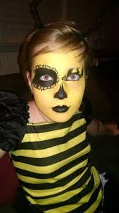 image result for bee makeup stuff in 2018 bee face paint ble bee face paint and costumes