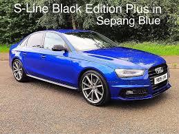 black audi a4 2015. 2015 audi a4 tdi s line black edition plus sepang bluefinance available