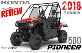2018 honda 50.  2018 2018 honda pioneer 500 review  specs  price accessories performance  info  more to honda 50