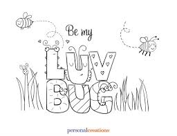 valentines printables luvbug free valentines day coloring pages printables daily dish on love bug printable