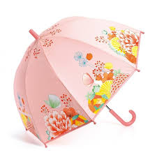 Зонтик <b>Цветочный сад Djeco</b>, цвет розовый, артикул 326723 ...