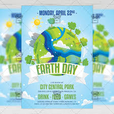 Mother Earth Day Flyer Seasonal A5 Template