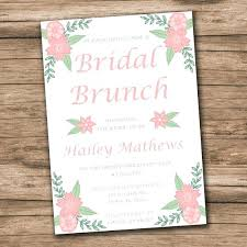 Free Bridal Shower Invitations Templates Delectable Free Printable Bridal Shower Invitations Templates Wedding