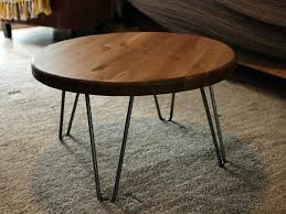 industrial furniture legs. Wood Coffee Table Legs Elegant Rustic Vintage Industrial Round Metal Wooden With Chrome Furniture E