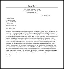 Volunteer Letter Under Fontanacountryinn Com