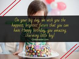happy birthday wishes for little boys