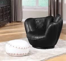 all star baseball glove chair w ottoman