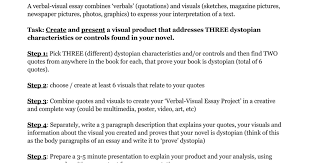 verbal visual essay project docx google docs