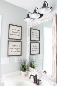 7 steps to creating your dream farmhouse bathroom bathroom wall light fixturesdiy