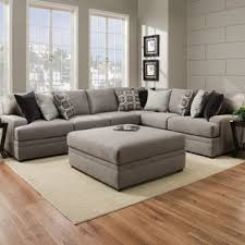 Simmons Sectional Sofa Brooklyn Wayfair Mervin Briar Simmons Upholstery Sectional Sofa