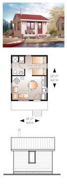 Small 2 Bedroom 2 Bath House Plans House Plan 99971 Cottage Vacation Plan With 598 Sq Ft 1