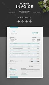Modern Invoice 30 Modern Invoice Templates Word Excel Indesign