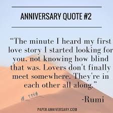 Anniversary Quote Fascinating 48 Perfect Anniversary Quotes For Him Paper Anniversary By Anna V