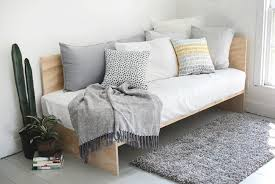daybed sofa.  Daybed DIY Daybed  Made From Plywood With Sofa