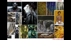 autumn winter 18 19 fashion mood board on knitwear mens theme natural nature by ifashion
