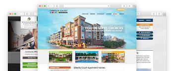 apartment website design. Community Websites Apartment Website Design E