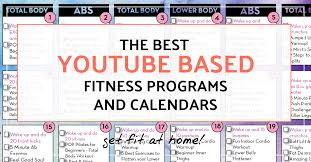 Youtube Based Fitness Programs Structured Workout Programs At Home