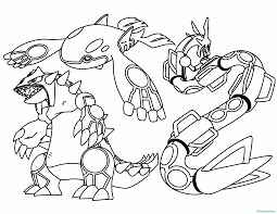 Limited Legendary Pokemon Colouring Pages 11 49990