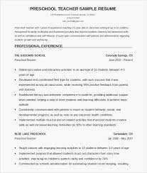 Group Fitness Instructor Resume Sample Resume Examples For Teachers