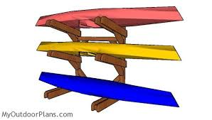 kayak rack plans myoutdoorplans free woodworking plans and projects diy shed wooden playhouse pergola bbq