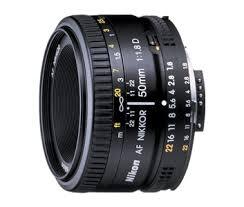 <b>AF Nikkor 50mm f/1.8D</b>   <b>Nikon</b> FX lenses