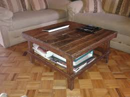 rustic coffee table with storage tags attractive 2x4 coffee inside cur rustic storage diy coffee