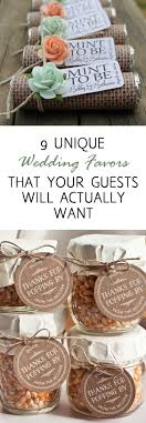 9 Unique Wedding Favors That Your Guests Will Actually Want Oh