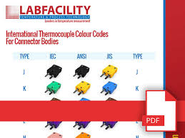 Thermocouple Color Chart Downloads