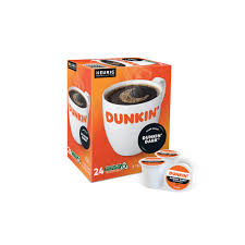 Calories in 1 grams (3.5 oz) Dunkin Donuts Dark Roast K Cup Coffee Cross Country Cafe