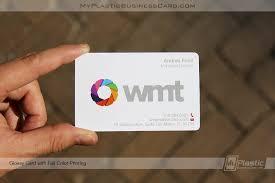 Profit Pack 500 Plastic Business Cards My Plastic Business Card