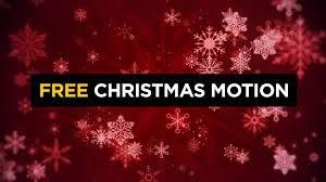Free Christmas Snowflake Motion Background Cmg Church Motion