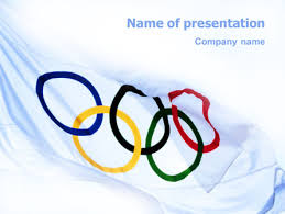 Olympic Games Powerpoint Template Backgrounds 02369