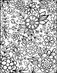 Free Printable Flower Coloring Pages 2 5868