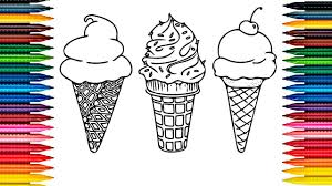 drawing ice cream picture coloring book ice cream coloring page