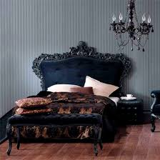 Gothic Style Bedroom Furniture Gothic Style Metal Bed Frame Madonna White Or Black Bedstead