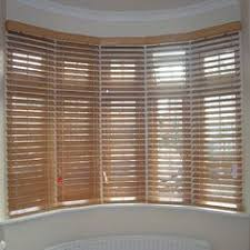 Changing Curtains Highgate North London Wood Slat Venetian Roller Blinds Bay Window